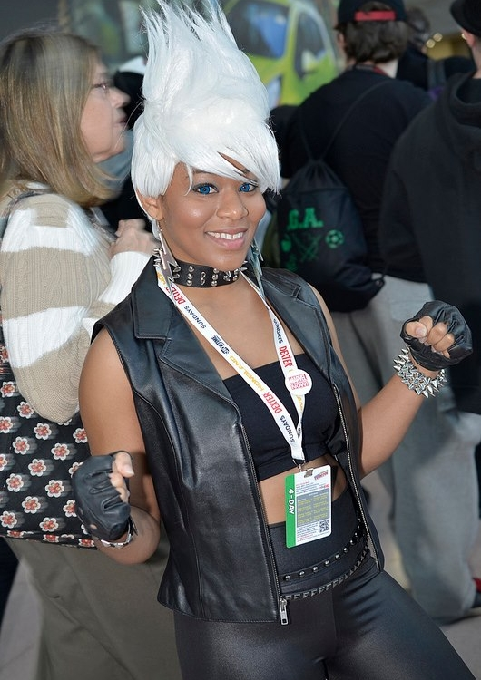 Halloween Contest Entry: Brittany as Storm