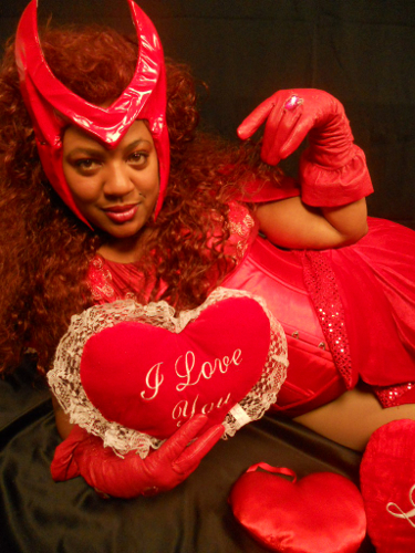 Valentineu0027s Day Themed Submission: Darlena As Scarlet Witch (Marvel Comics)