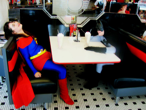 valentines day couples contest entry janis hsing lauren risher are cosplaying as superma - Valentines Day In Dc