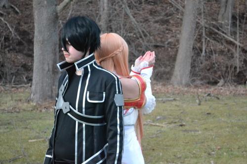 Valentine's Day Couples Contest Entry: Sammie Gibson & Trey Akers as Asuna Yuuki & Kirito Kirigaya (Sword Art Online)