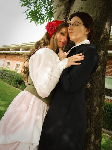 Valentine's Day Couples Contest Entry: Silverxplayer & Ellome as Hungary & Austria (Hetalia)