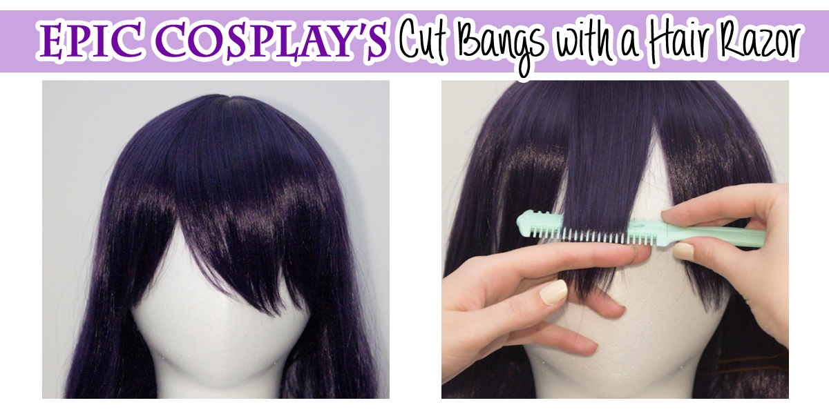 Cutting Bangs with a Hair Razor