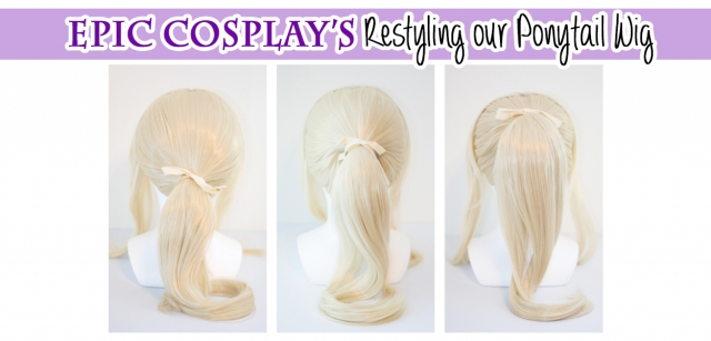 Ponytail Wig Restyling Guide