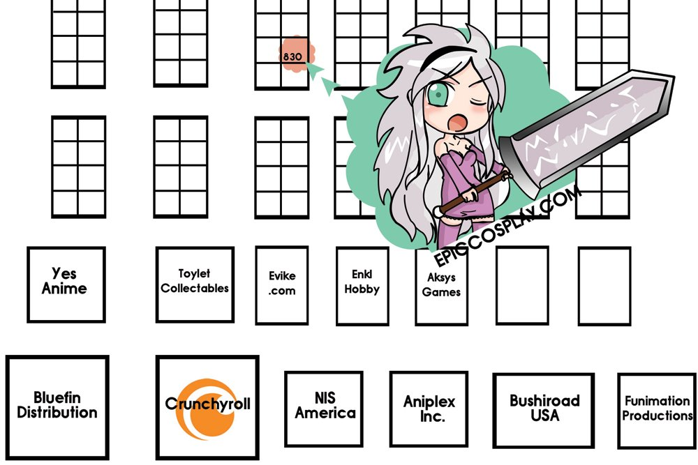 animexpo2014map