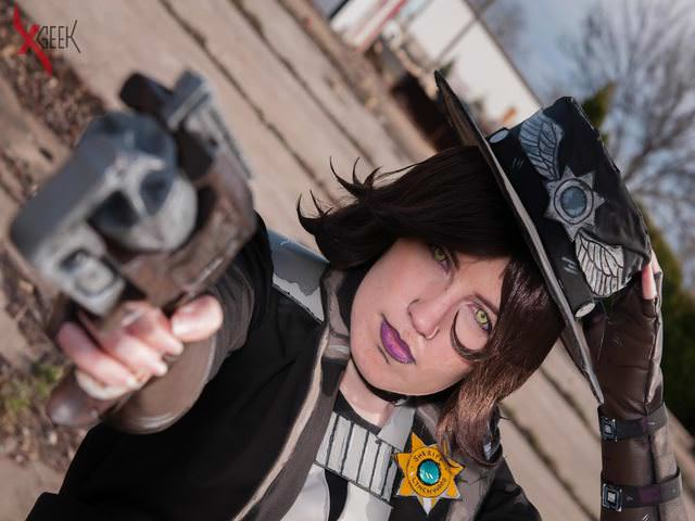 Nisha Sheriff of Lynchwood Cosplay