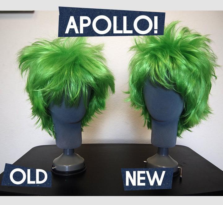 New & Improved APOLLO Wigs!