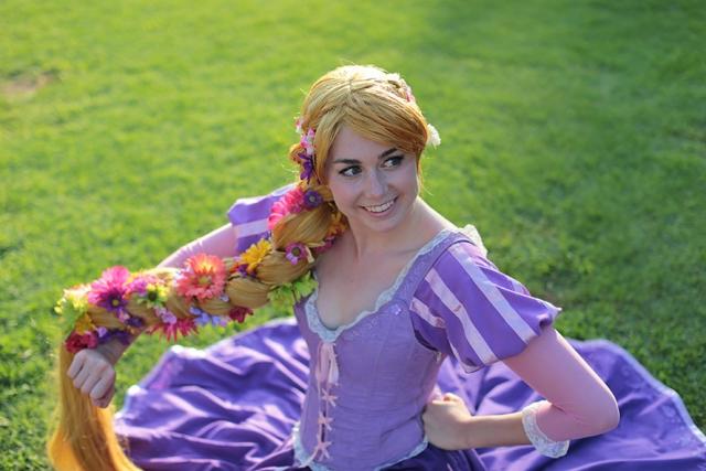 Rapunzel from Disney's Tangled
