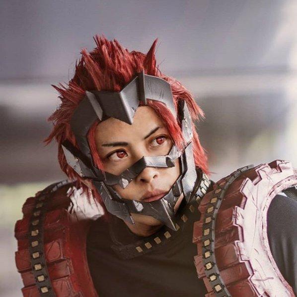 Eijiro Kirishima From My Hero Academia Epic Cosplay Blog